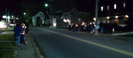 Annapolis 40 Days for Life Candlelight Vigil